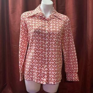 Vintage 1970s button down shirt